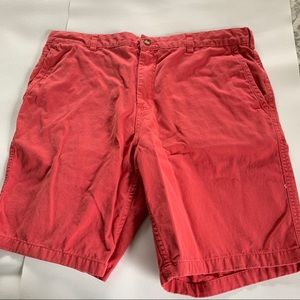 Black Brown 1826 Men's Twill Shorts Red size 36